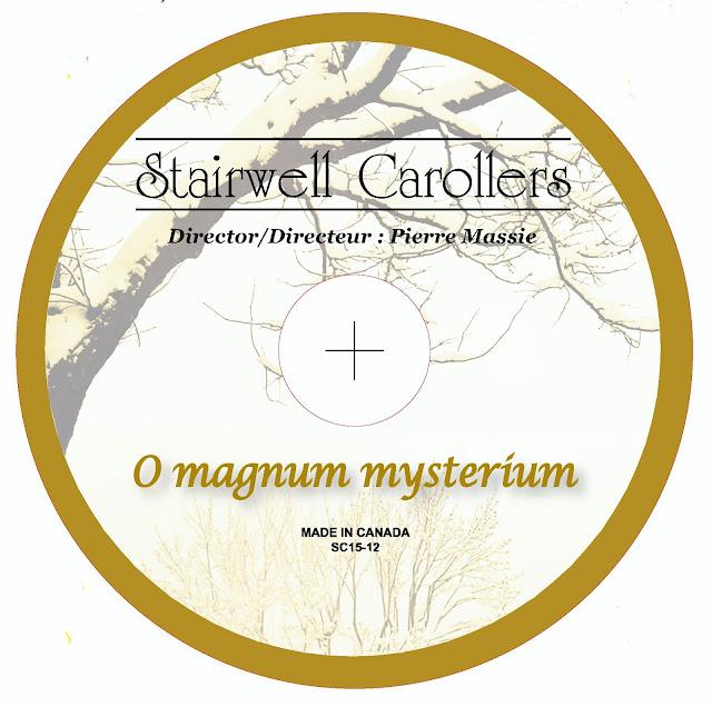 O magnum mysterium CD Lable