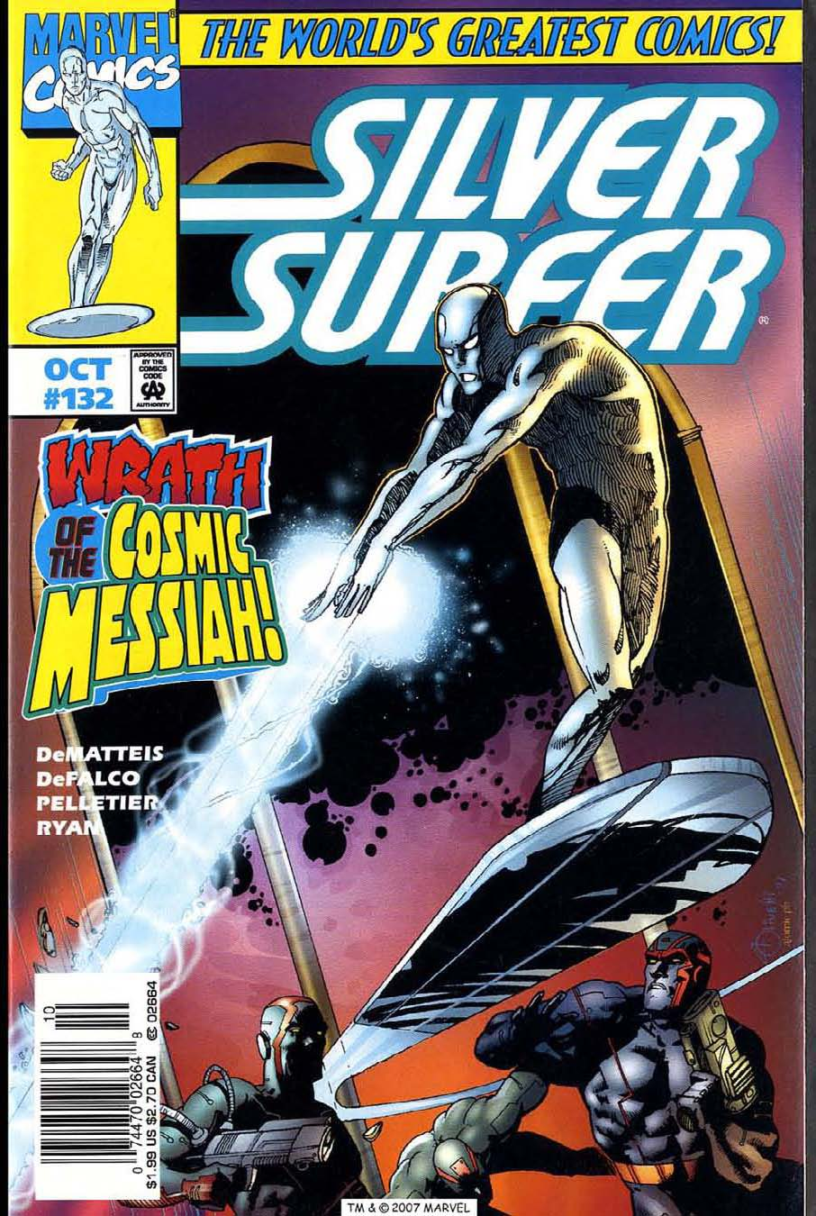 Read online Silver Surfer (1987) comic -  Issue #132 - 1