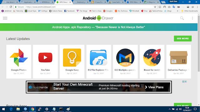 9 situs terbaik tempat download apk android alternatif play store versi teknokopas