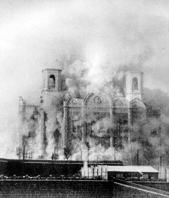 A revolução bolchevista reprimiu toda forma de cristianismo não submissa ao Patriarcado de Moscou