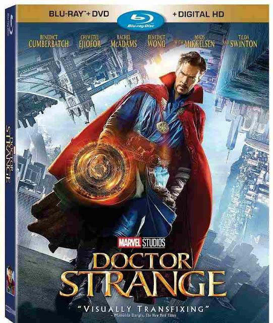 Blu-ray de Doctor Strange el 28 de febrero