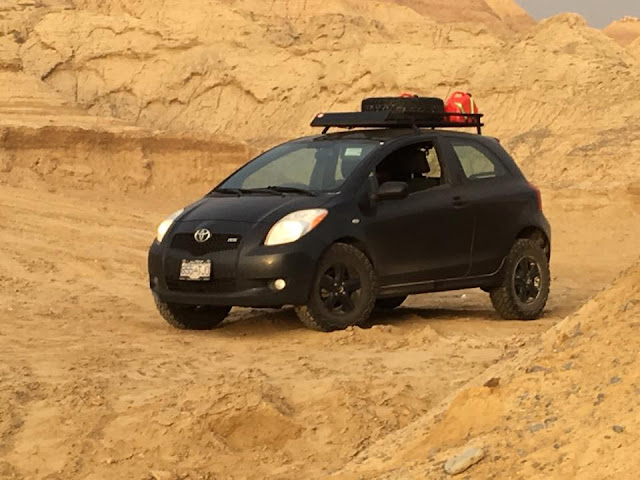 Off Road Toyota Yaris
