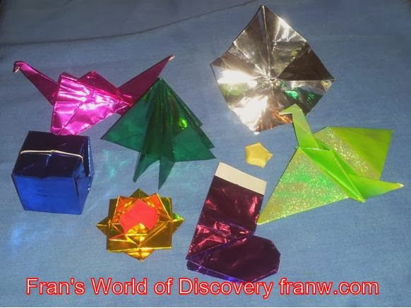 Funschooling Recreational Learning Holiday And Winter Origami