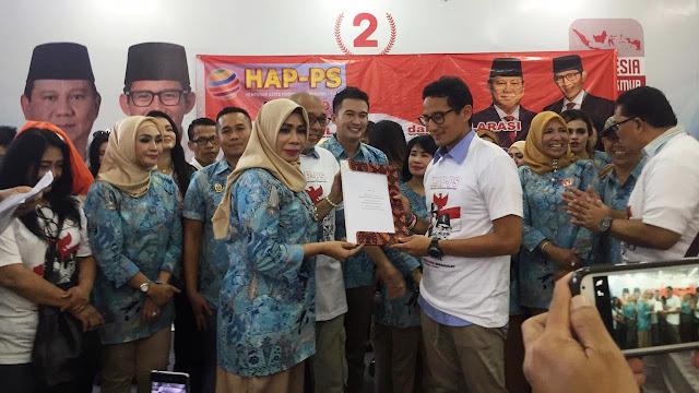 Elly Sugigi hingga Ozy Syahputra Deklarasi Dukung Prabowo-Sandi