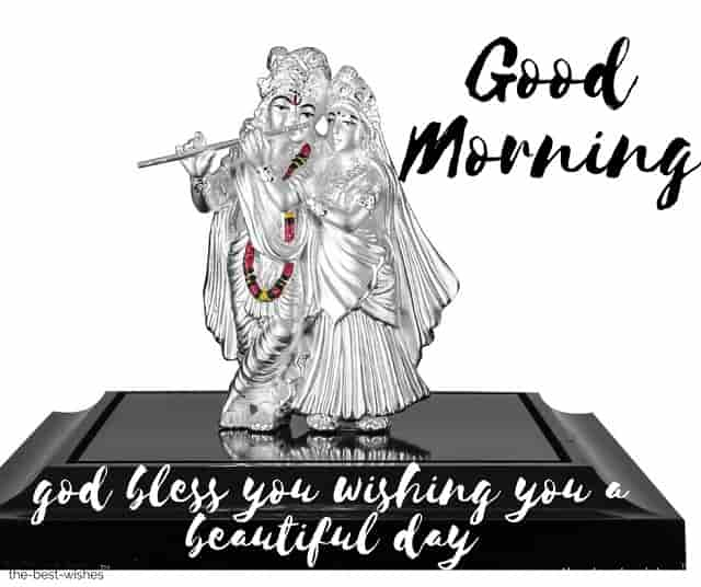 jai shree krishna good morning with message