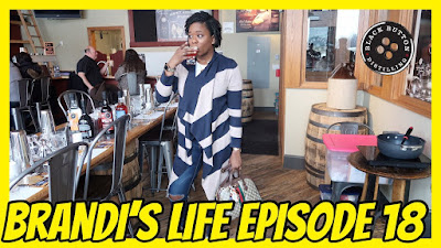 Brandi's Life Episode 18: Date Night at Black Button Distilling #Buffalo| PrettyPRChickTV