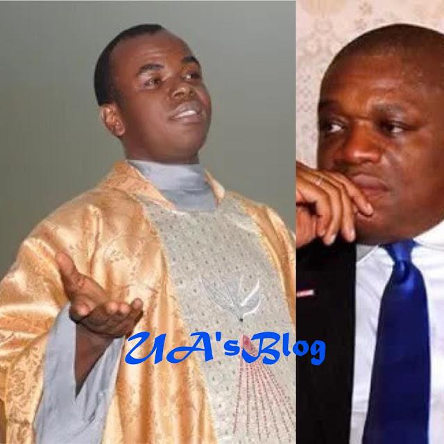 Mbaka Announces Return Of Orji Kalu, Urges Nigerians To Pray For Ex-Governor