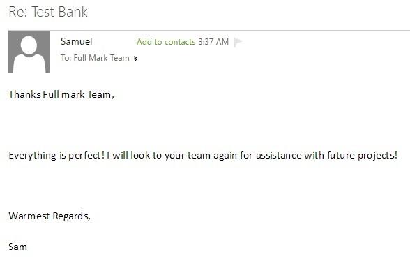 FullMark Team ( solutions manual &Test bank ): list 6 ( j,k,l )