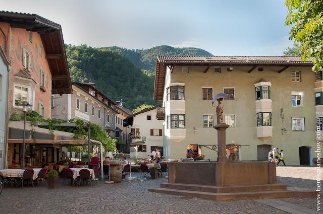 Chiusa viaje Italia pueblos