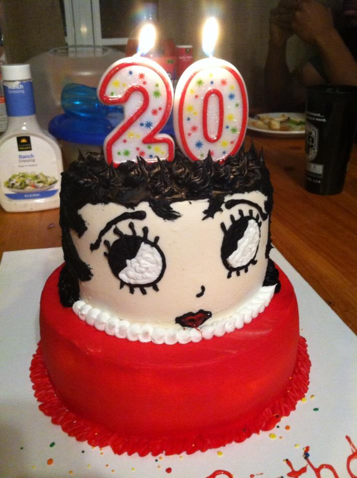 Why Not Do Her Favorite Character Betty Boop The Birthday Girl Absolutely Loved It Happy Pretty
