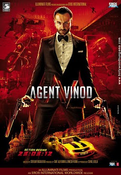 Agent Vinod Hindi Movie 2012 Online Saif Ali Khan Kareena Kapoor First Look Poster