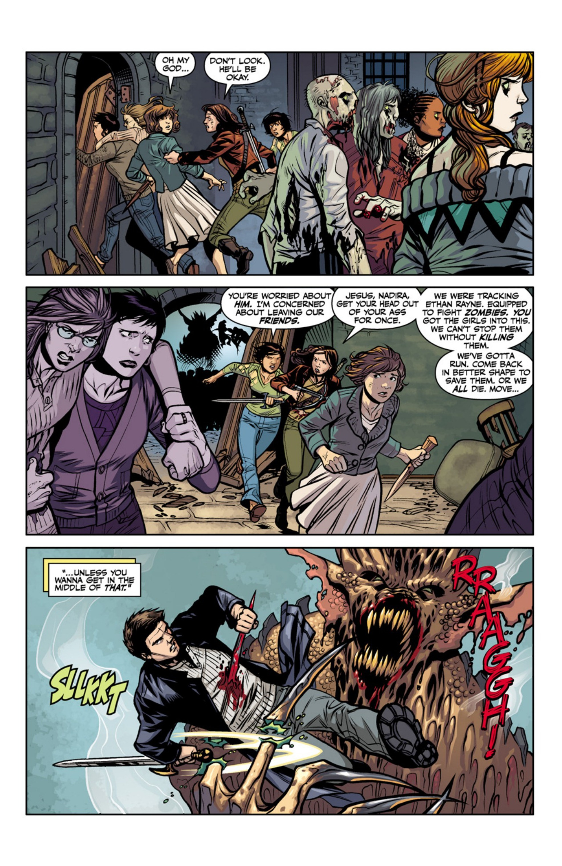 Read online Angel and Faith comic -  Issue #18 - 15