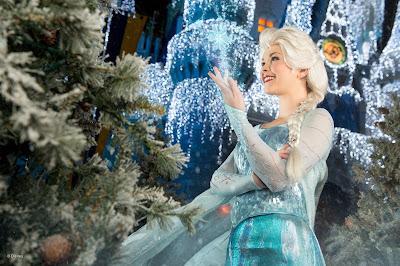 Elsa - no Magic Kingdom