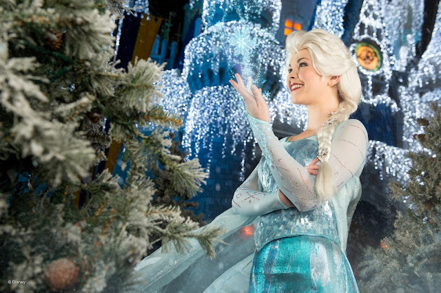Elsa - no Magic Kingdom