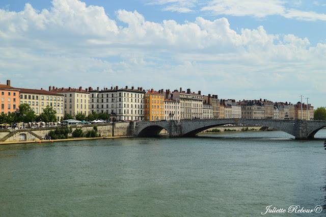 Rives de Saône à Lyon