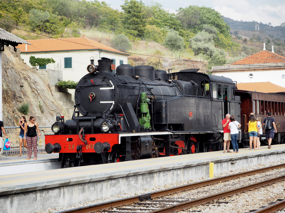 coal train foz do tua portugal peexo travel blog