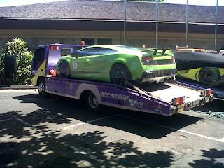 Pengiriman Mobil Dengan Towing Single