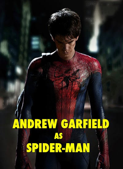 Andrew Garfiled as Spider-Man