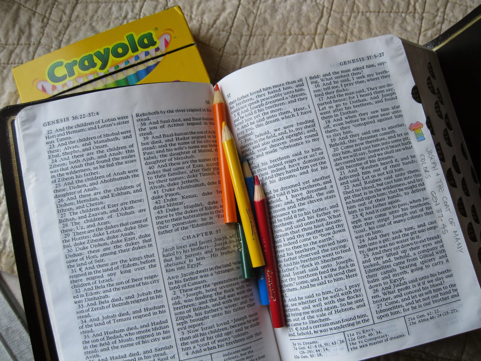 Lds Scripture Literacy Old Testament Margin Notes And