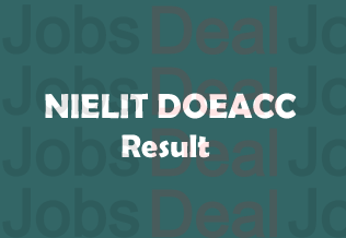 NIELIT DOEACC Result 2017