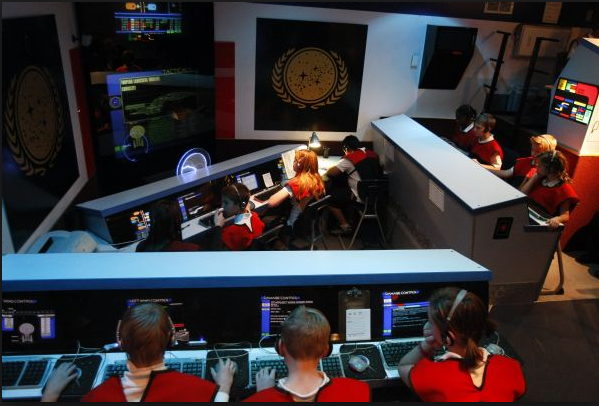 Directory of the 63 Past and Present USS Voyager Inspired Simulators Worldwide