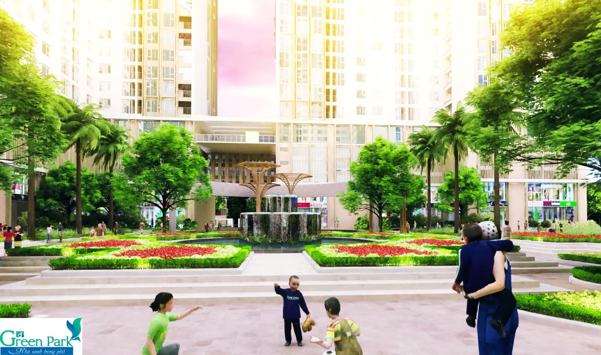 Không gian xung quanh dự án Phương Đông Green Park Trần Thủ Độ