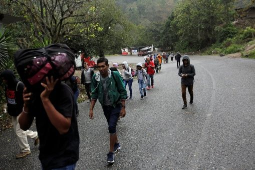 Honduras y México trabajan para atender a caravana migrante