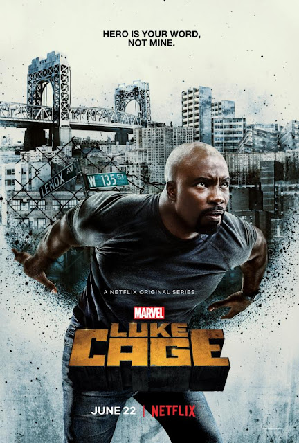 Marvel's Luke Cage Netflix Series Season 2 Television One Sheet Poster