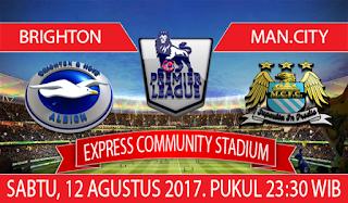 Prediksi Brighton Abion vs Manchester City 12 Agustus 2017