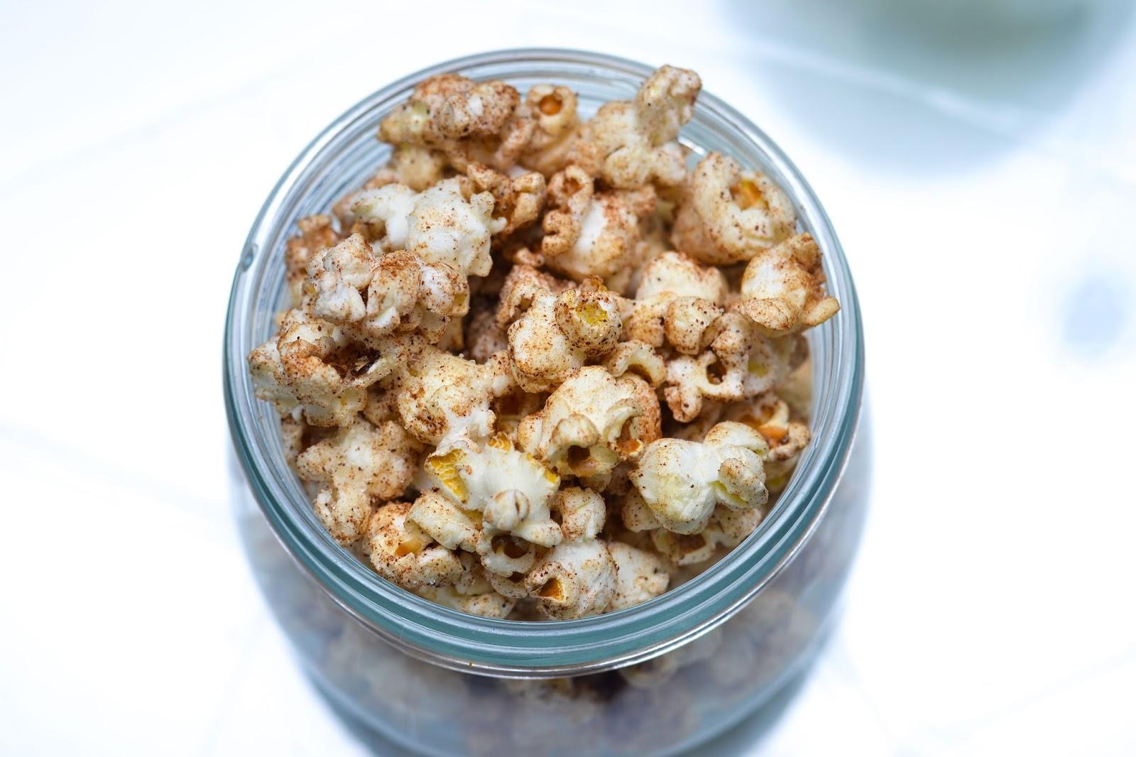 Cinnamon Sugar Popcorn in Lagos