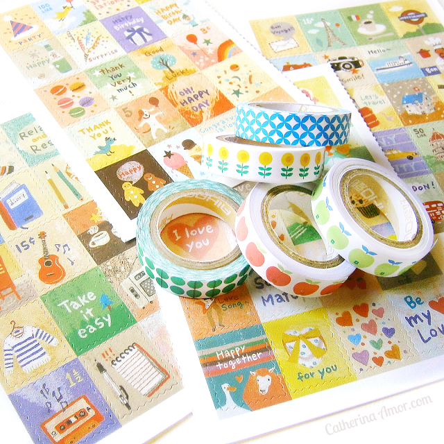 Rabbit and the Duck Washi Gang