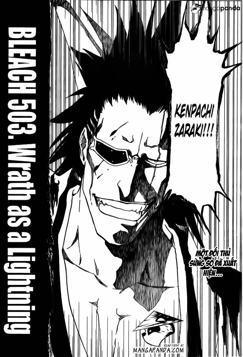 Bleach chapter 503 trang 2