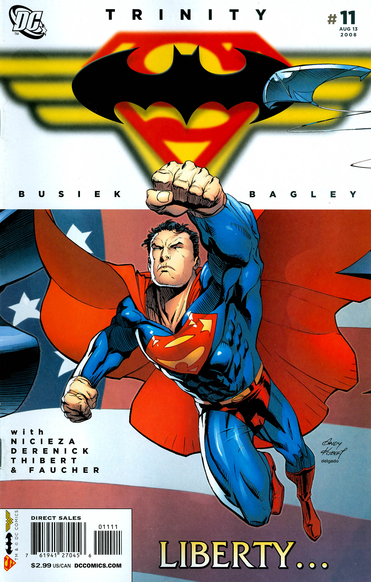 Read online Trinity (2008) comic -  Issue #11 - 1