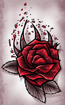 Como Dibujar Una Rosa Para Tatuaje Facil Guia Dibujo