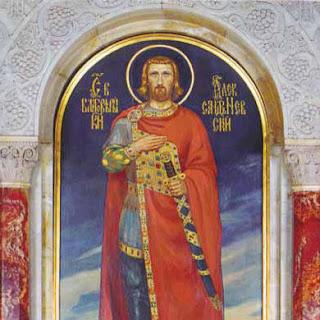 Събития, ден на Свети Александър Невский