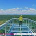 Wow, Mantap! Ciamis Kini Punya Wisata Jembatan Kaca!