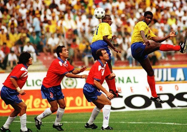 Colombia y Chile en Clasificatorias a Francia 1998, 1 de septiembre de 1996
