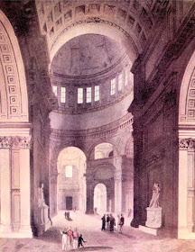 St Paul's Cathedral from   The Microcosm of London (1808-10)