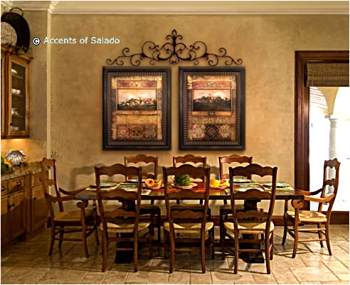 Key interiors by shinay tuscan dining room design ideas for Dining room decorating ideas 2012