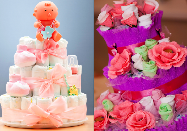 baby shower ideas and shops diaper cakes