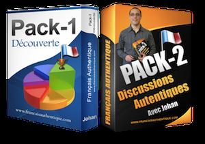Pack 2 - Français Authentique gratuit