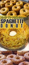 How To Make Spaghetti Donut