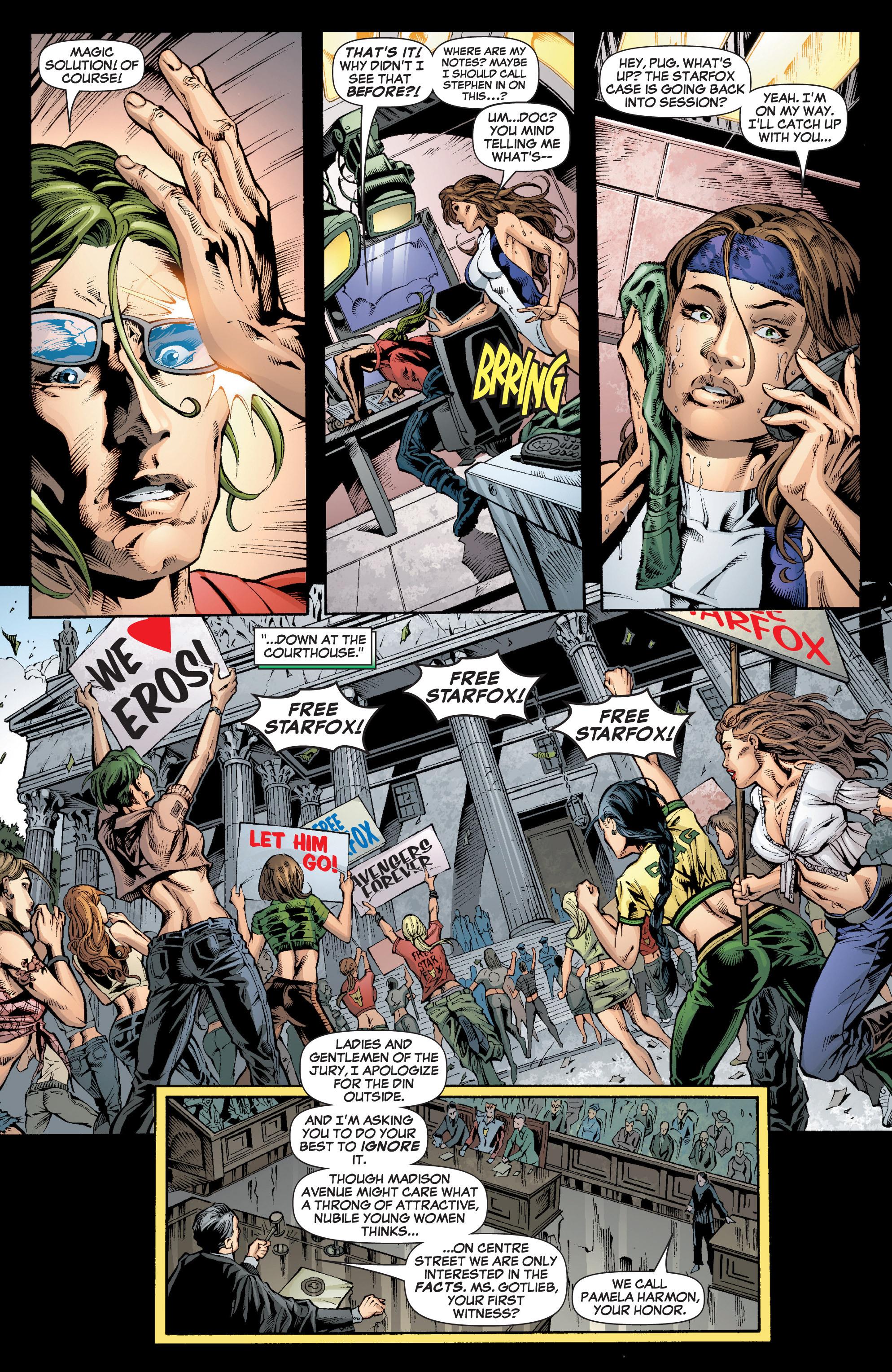 Read online She-Hulk (2005) comic -  Issue #7 - 5