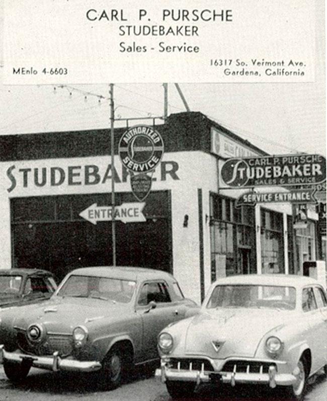 Annualmobiles: Carl Pursche Studebaker