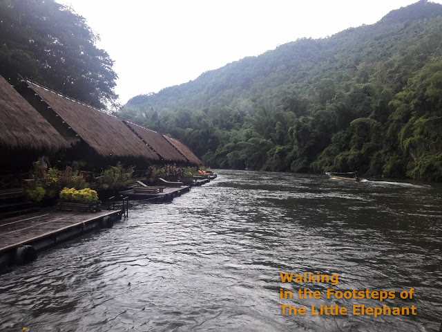 River Kwai Jungle Rafts in Kanchanaburi - Thailand