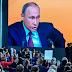 """My heart bleeds for Ukraine and Saakashvili is a joke""- Putin"