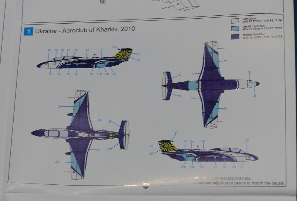 Karina Vlad Model Y 107: Drewe's Model Blog: AMK's 1/72nd L29 Delfin