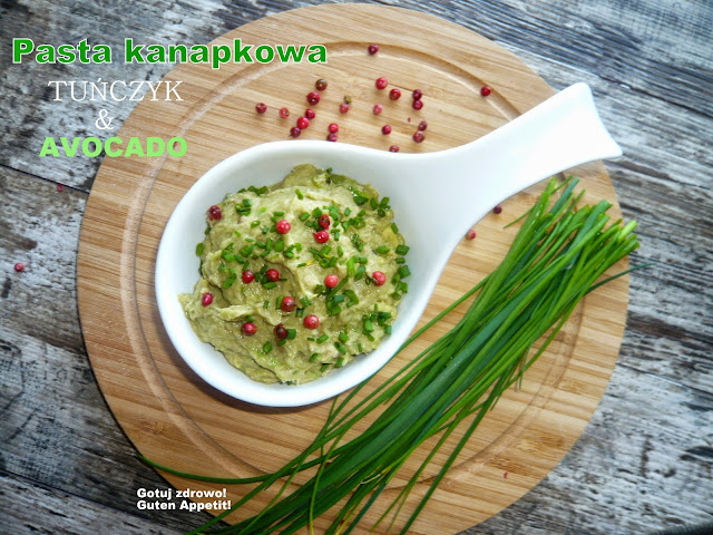 Pasta kanapkowa tuńczyk & awocado - Czytaj więcej »
