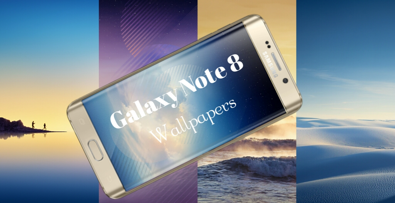 Samsung Galaxy Note 8 HD Stock Wallpapers