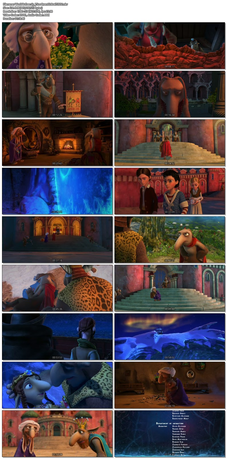 The Snow Queen 2 2014 Dual Audio 720p BRRip 400Mb HEVC x265 world4ufree.vip, hollywood movie The Snow Queen 2 2014 hindi dubbed dual audio hindi english languages original audio 720p BRRip hdrip free download 700mb movies download or watch online at world4ufree.vip